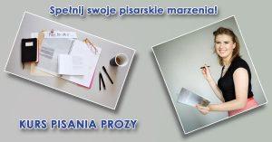 kurs pisania prozy