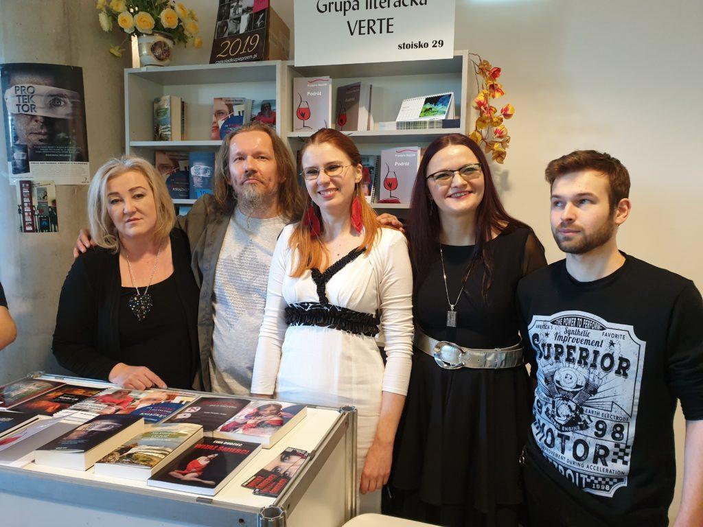Targi Książki - Grupa Verte