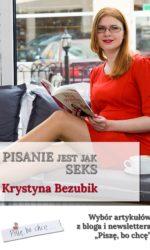 pisanie jak seks – okładka